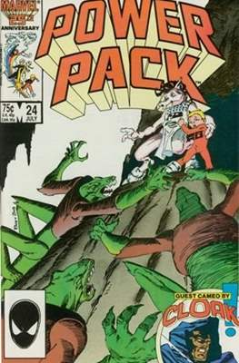 Power Pack (1984-1991; 2017) (Grapa) #24