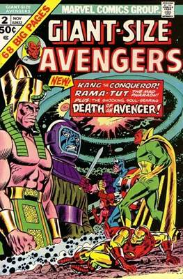 Giant-Size Avengers (1974-1975) (Comic Book) #2