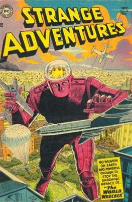 Strange Adventures (Comic Book) #50
