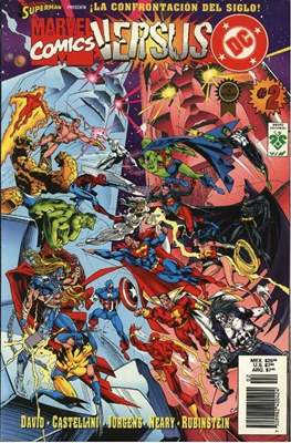 Dc versus Marvel / Marvel versus Dc (Rústica) #2