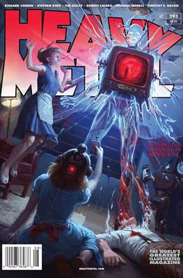 Heavy Metal Magazine (Grapa) #293