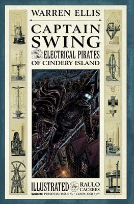 Captain Swing and the Electrical Pirates of Cindery Island #4