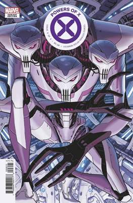 Powers of X (Variant Cover) (Comic Book) #6.4