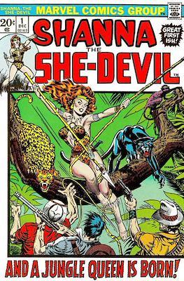 Shanna the She-Devil Vol. 1 (comic grapa usa) #1