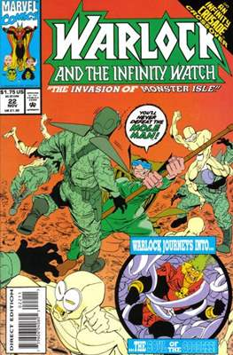 Warlock and the Infinity Watch (Comic-Book) #22