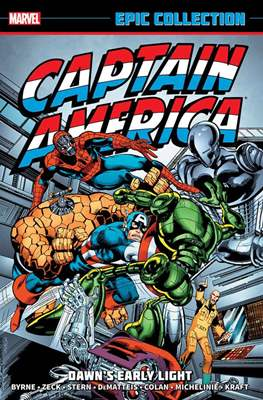 Captain America Epic Collection (Softcover) #9