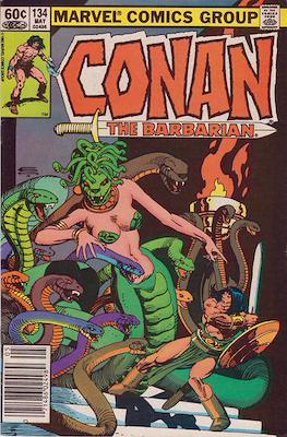 Conan The Barbarian (1970-1993) (Comic Book 32 pp) #134