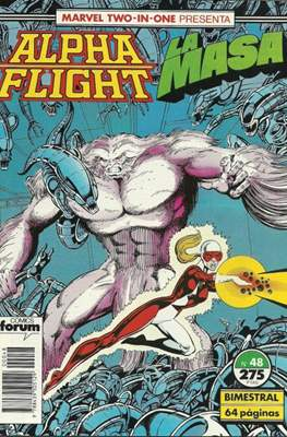 Alpha Flight Vol. 1 / Marvel Two-in-one: Alpha Flight & La Masa Vol.1 (1985-1992) (Grapa 32-64 pp) #48