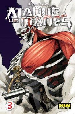 Ataque a los Titanes (Rústica con sobrecubierta) #3