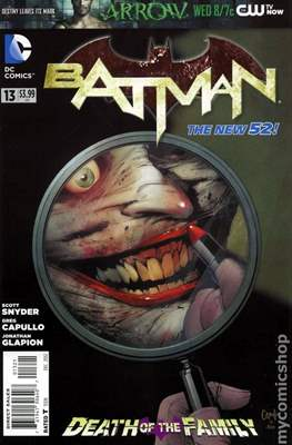 Batman Vol. 2 (2011-2016 Variant Covers) (Comic Book) #13