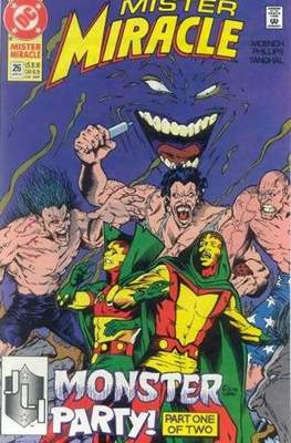 Mister Miracle (Vol. 2 1989-1991) (Comic Book) #26