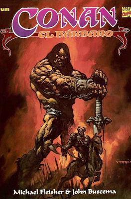 Conan el Bárbaro. Novelas graficas #7