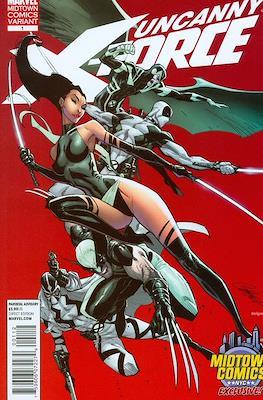 Uncanny X-Force Vol. 1 (2010-2012 Variant Cover)