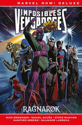 Imposibles Vengadores. Marvel Now! Deluxe #2