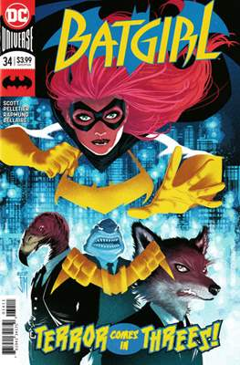 Batgirl Vol. 5 (2016-) (Comic Book) #34