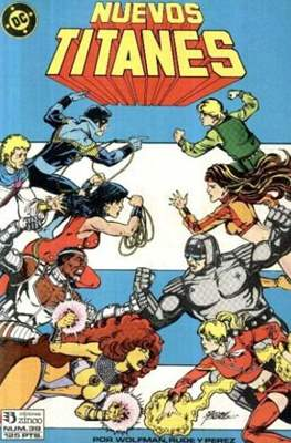 Nuevos Titanes Vol. 1 (1984-1988) (Grapa 40 pp) #39