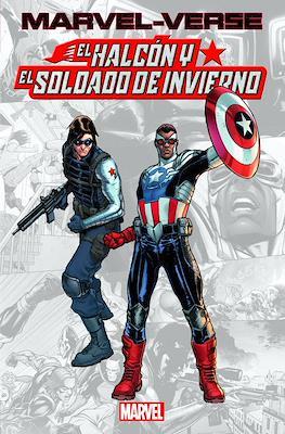 Marvel-Verse. El Halcón y el Soldado de Invierno (Rústica 112 pp) #
