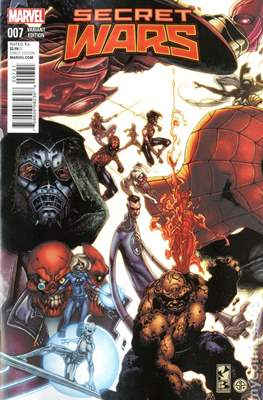 Secret Wars (2015) Variant Covers (Comic Book) #7