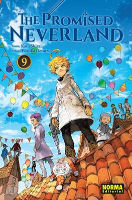 The Promised Neverland (Rústica con sobrecubierta) #9