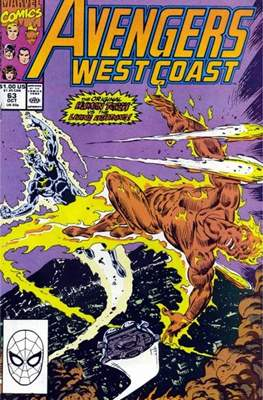 West Coast Avengers Vol. 2 (Comic-book. 1985 -1989) #63