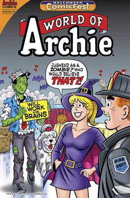World of Archie. Halloween ComicFest 2015
