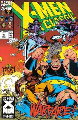 Classic X-Men / X-Men Classic (Comic Book) #82