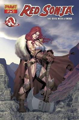 Red Sonja (Variant Cover 2005-2013) #25.1