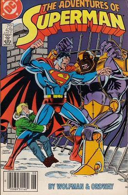 Superman Vol. 1 / Adventures of Superman Vol. 1 (1939-2011) (Comic Book) #429