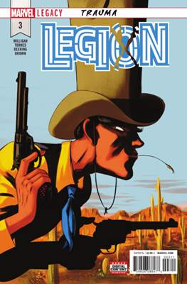Legion: Trauma (Comic Book) #3