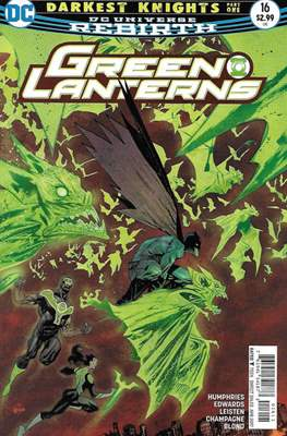 Green Lanterns Vol. 1 (2016-2018) (Comic-book) #16