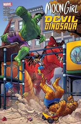 Moon Girl and Devil Dinosaur (Comic-book) #14