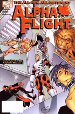 Alpha Flight (Vol. 3 2004-2005) (Comic Book) #4