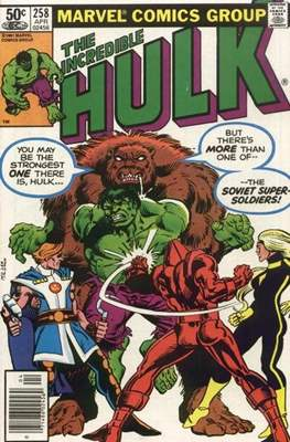 The Incredible Hulk Vol. 1 (1962-1999) (Comic Book) #258