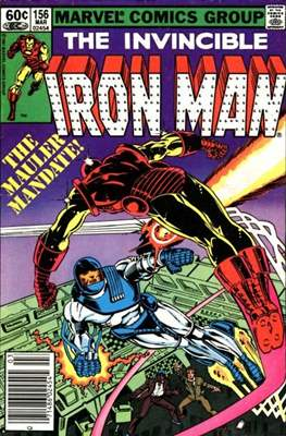 Iron Man Vol. 1 (1968-1996) (Comic book) #156
