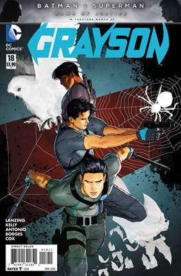Grayson (2014-2016) (Comic-Book) #18