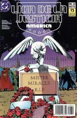 Liga de la Justicia / Liga de la Justicia internacional / Liga de la Justicia de America (1988-1992) (Grapa) #34