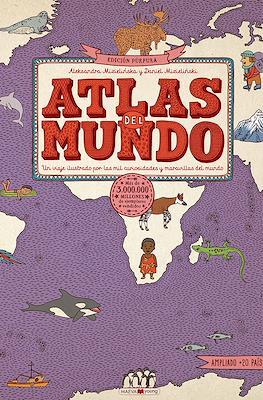 Atlas del mundo. Edición púrpura (Cartoné 120 pp) #