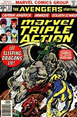 Marvel Triple Action Vol 1 (Comic-book.) #33