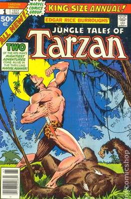 Tarzan Annual (Comic book.) #1