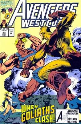 West Coast Avengers Vol. 2 (Comic-book. 1985 -1989) #92