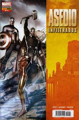 Asedio: Infiltrados (2010) (Grapa) #4