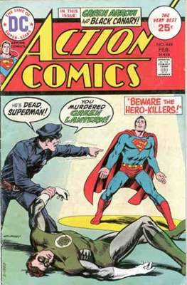Action Comics Vol. 1 (1938-2011; 2016-) (Comic Book) #444