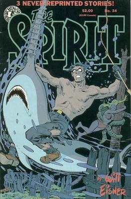 The Spirit (1983-1992) (Comic book. 32 pp) #34
