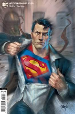 Action Comics Vol. 1 (1938-2011; 2016-... Variant Covers) #1025