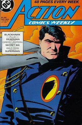Action Comics Vol. 1 (1938-2011; 2016-) (Comic Book) #603