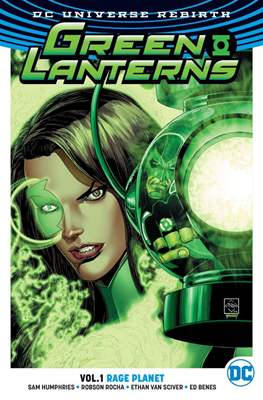 Green Lanterns Vol. 1 (2016-)