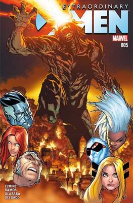 Extraordinary X-Men (Grapa) #5