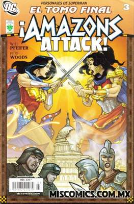 ¡Amazons Attack! #3