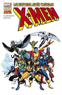 X-Men. Las historias jamás contadas. Marvel Gold
