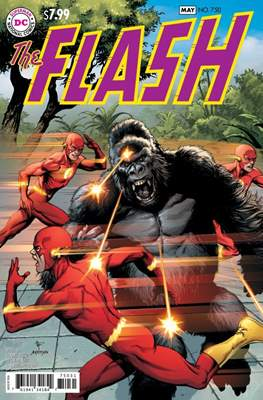 The Flash Vol. 5 (2016- Variant Cover) (Comic Book) #750.6